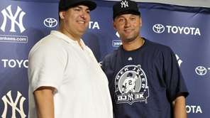 Christian Lopez, who caught Derek Jeter's 3,000th hit,