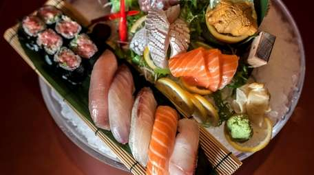 Ginza in Massapequa serves a sushi and sashimi