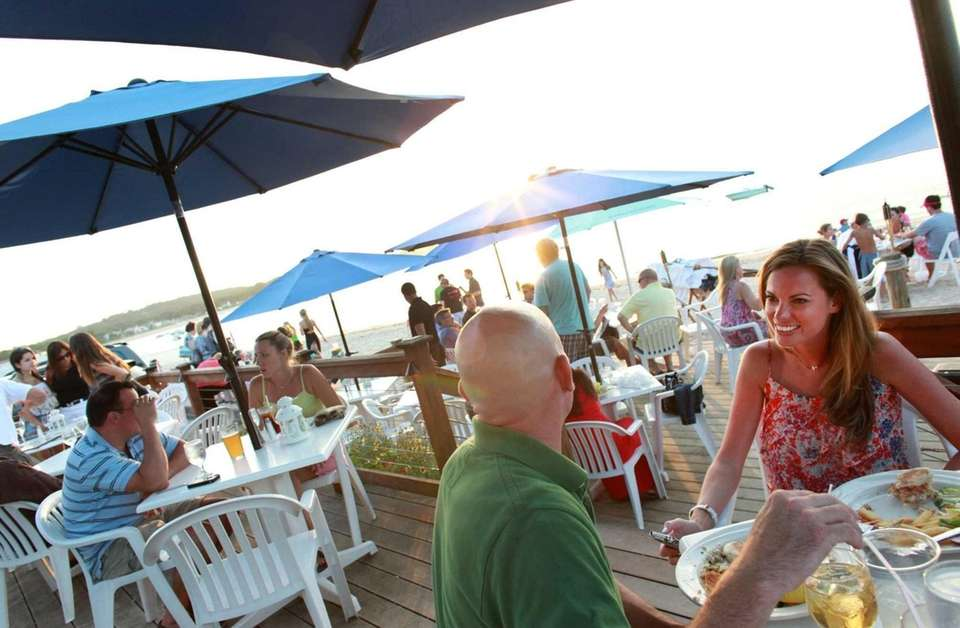 Wall's Wharf (18 Greenwich Ave., Bayville): At this