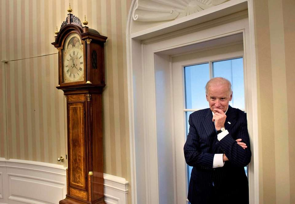 Then-Vice President Joe Biden in the Oval Office