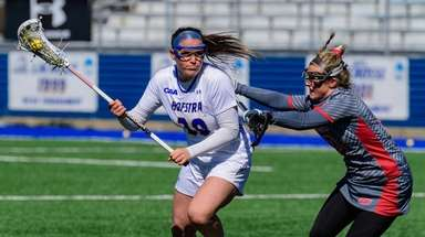 Hofstra's Alyssa Parrella during a March 23, 2019,