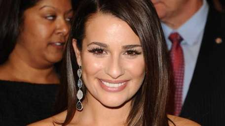 Actress Lea Michele from