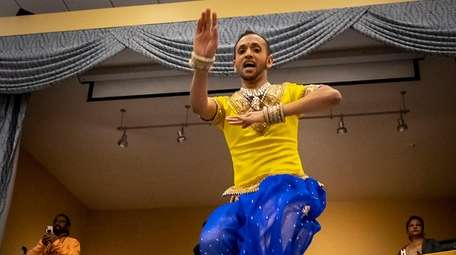 International Dancer Zaman performing in March at the