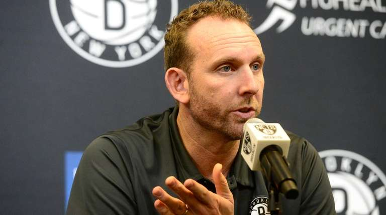 Nets general manager Sean Marks talks about the