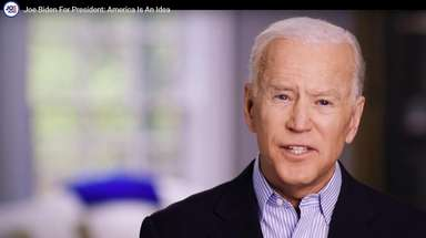 Former Vice President Joe Biden in a still