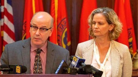 Nassau County Assessor David Moog with County Executive