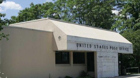 The Farmingville post office, on Horseblock Road. (July