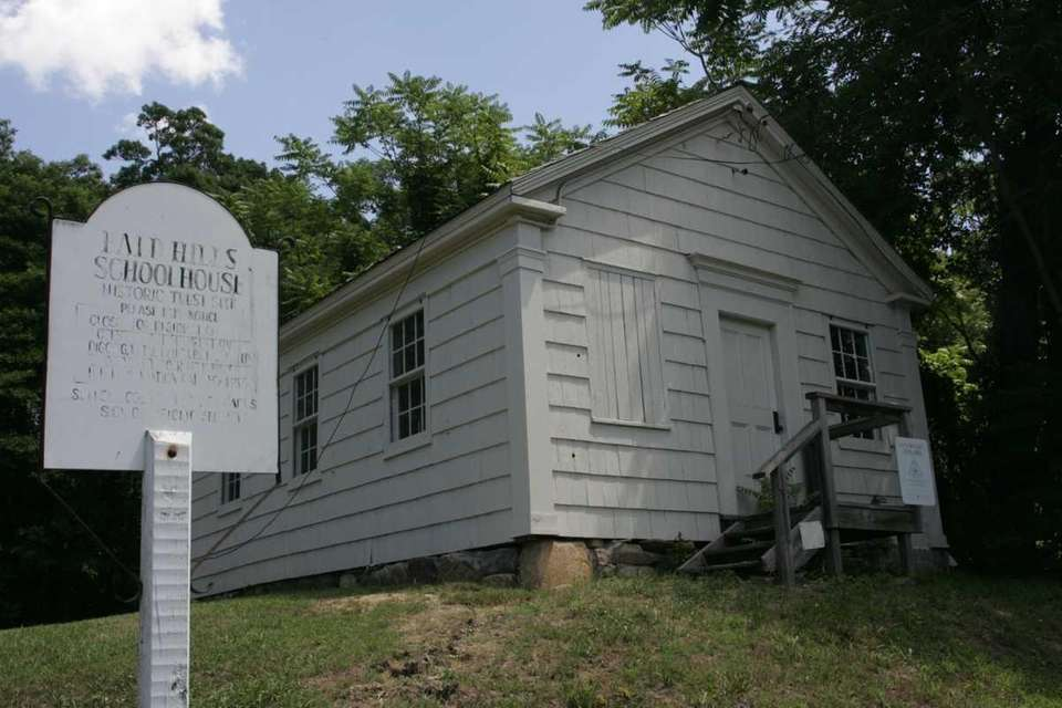 The Bald Hills Schoolhouse was Farmingville's first in