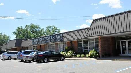 Oyster Bay Town Hall South, at 977 Hicksville