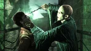 A scene from Harry Potter and the Deathly