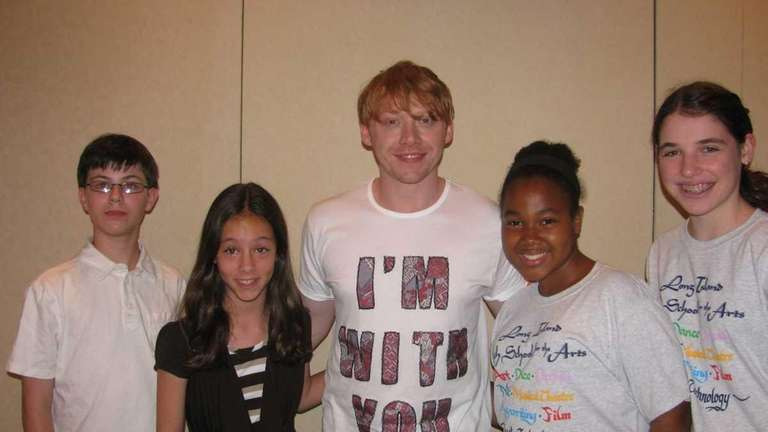 Actor Rupert Grint who stars as Ron in