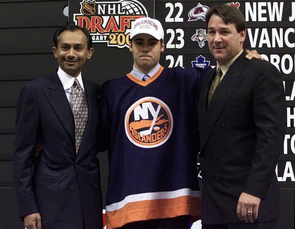 2000: RICK DiPIETRO, Islanders Goalie Career stats: 130-133-36,