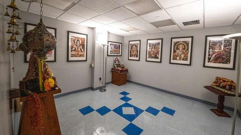 The prayer room at the renovated Indian Cultural