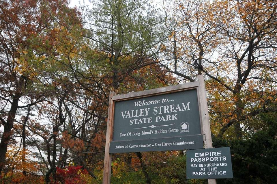 Valley Stream State Park on Thursday, Nov. 13,