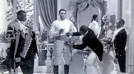 """The Emperor Jones"" (1933) filmed scenes at Jones"