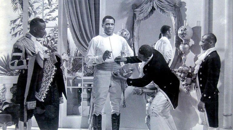 """""""The Emperor Jones"""" (1933) filmed scenes at Jones"""