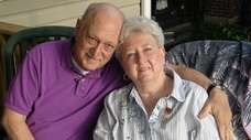 Dorothy Frances Valenti with husband John Valenti Jr.