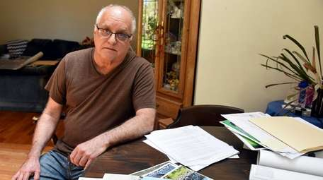 Sayville resident Anthony Bernardis filed a lawsuit in