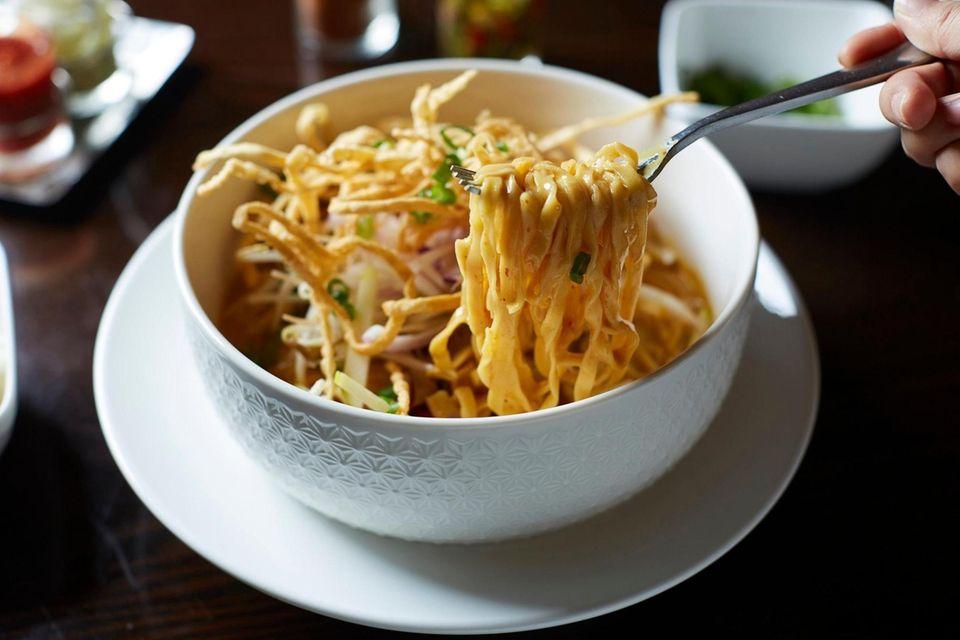 Ra-Cha Thai Cuisine, Huntington: This Thai eatery brings