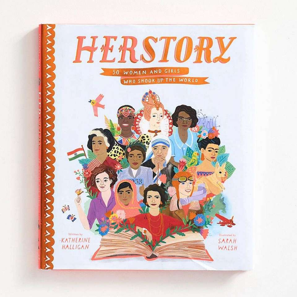 This illustrated story book written by Katherine Halligan