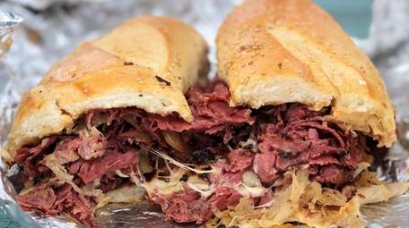 The Tommy Pastrami sandwich at Mac's Countryside Deli