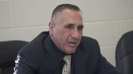 Charles Russo, superintendent of the East Moriches school