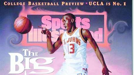 A Sports Illustrated cover with Felipe Lopez of
