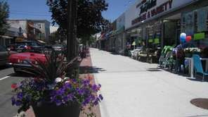A view of downtown Farmingdale, which boasts more