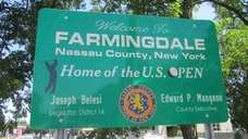 The Village of Farmingdale in the Town of