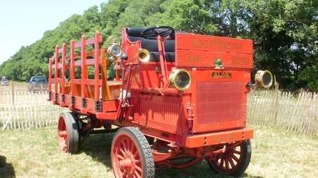 This 1912 cargo truck by the Alco American
