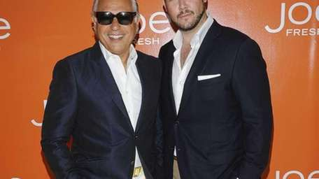 Joseph Mimran and Adrian Mainella attend Joe Fresh