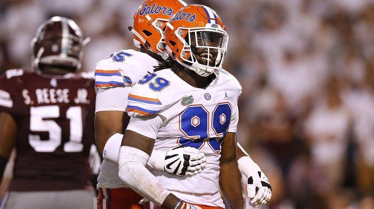 fe272285 NFL Draft: Jets take Florida edge rusher Jachai Polite in third ...