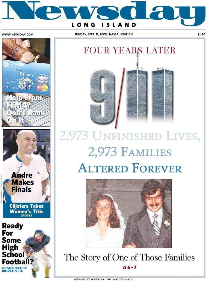 Sunday, Sept. 11, 2005. Read the story