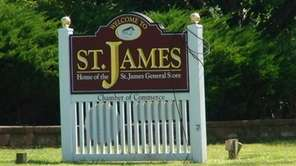 St. James, a hamlet in the Town of