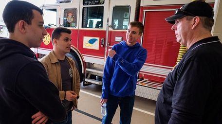 West Sayville Fire Department 1st Assistant Chief Jeff