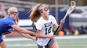 Eastport South Manor's Ellie Masera turns toward the