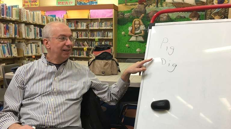David Leibenhaut, a retired high school English teacher