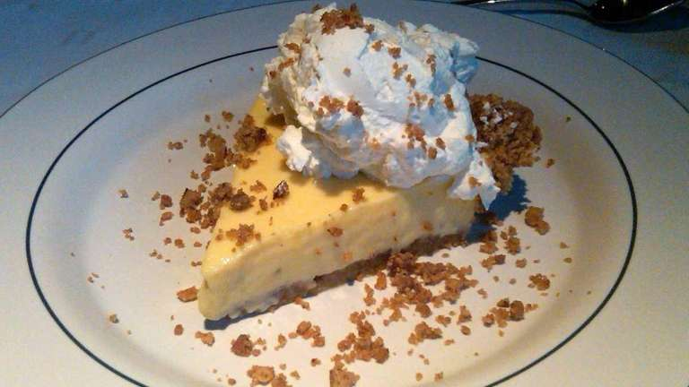 Key lime pie at East Hampton Grill in