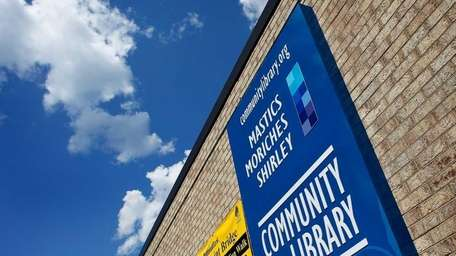 The Mastics-Moriches-Shirley Community Library. (July 15, 2011)