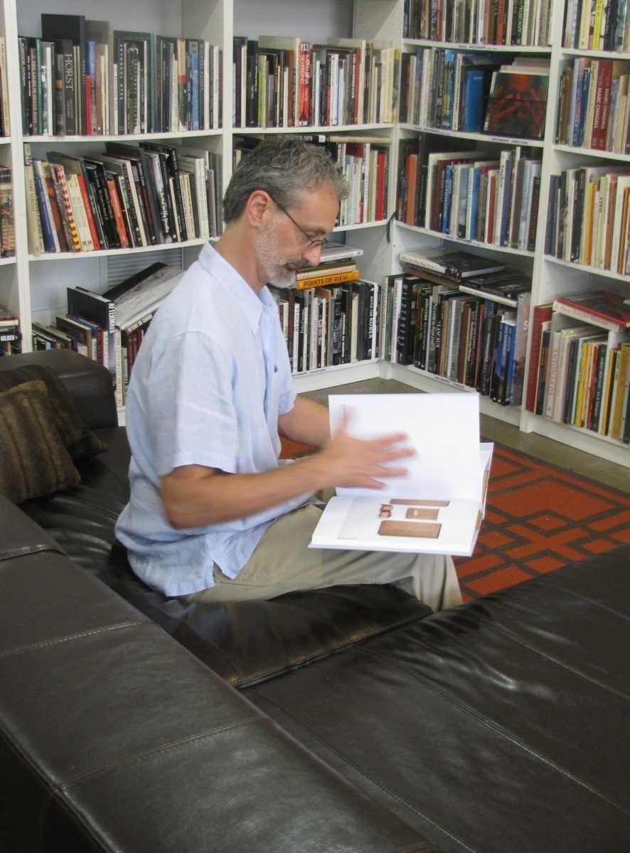 Michael Kinsey owns Black Cat Books on Shelter