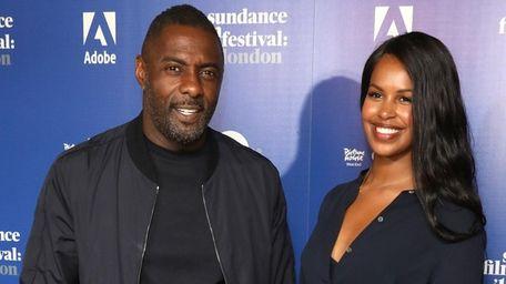 "Idris Elba and Sabrina Dhowre attend the ""Yardie"""