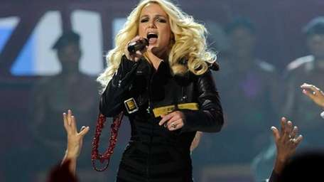 Entertainer Britney Spears, in no. 15 on Newsday