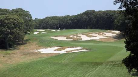 The fourth fairway during the New York State
