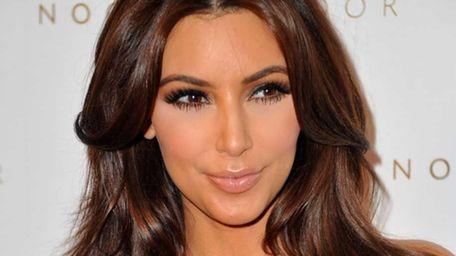 TV personality Kim Kardashian arrives to the Launch