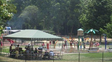 Hoyt Farm Town Park is a popular summer