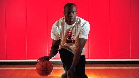 St. Johns basketball player God'sgift Achiuwa.