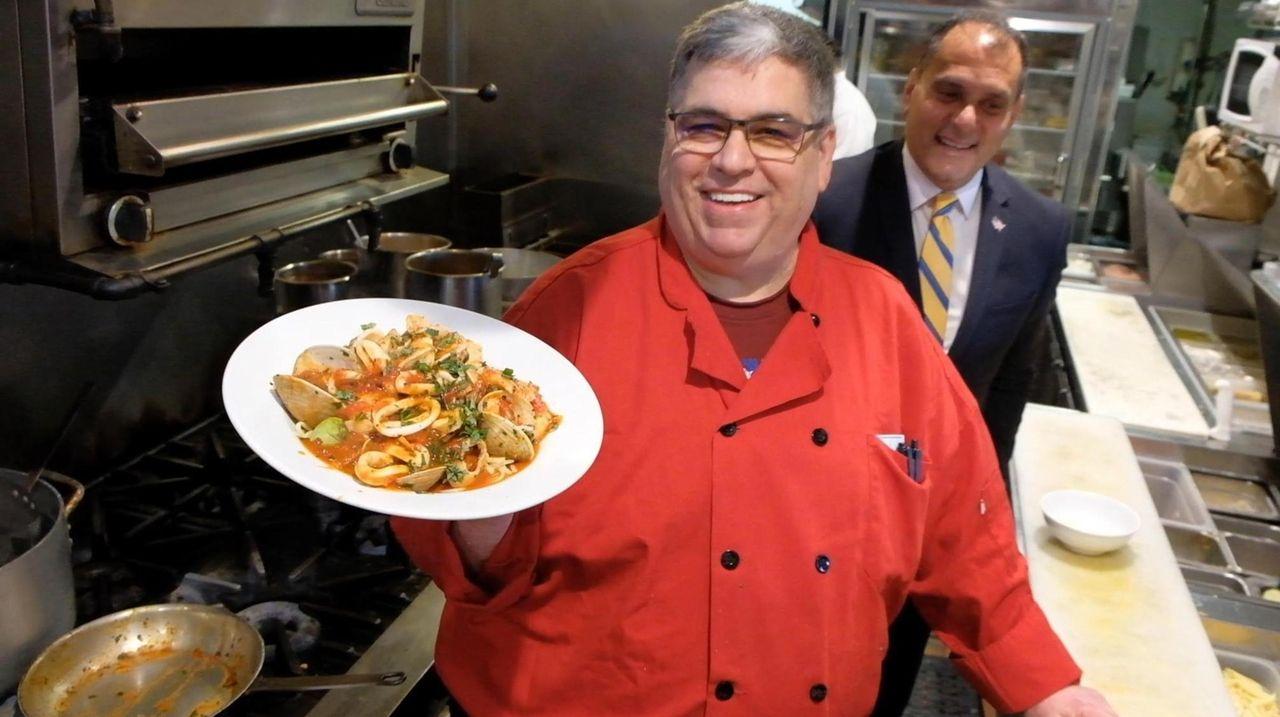 Owner Phil Morizio of Cafe Al Dente in