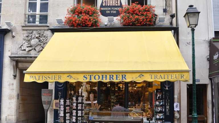 Stohrer, the oldest patisserie in Paris, dates to