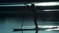 A night of stand-up paddling led by instructors