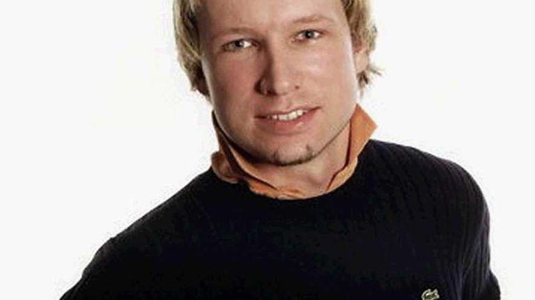 Anders Behring Breivik, 32, seen in an undated